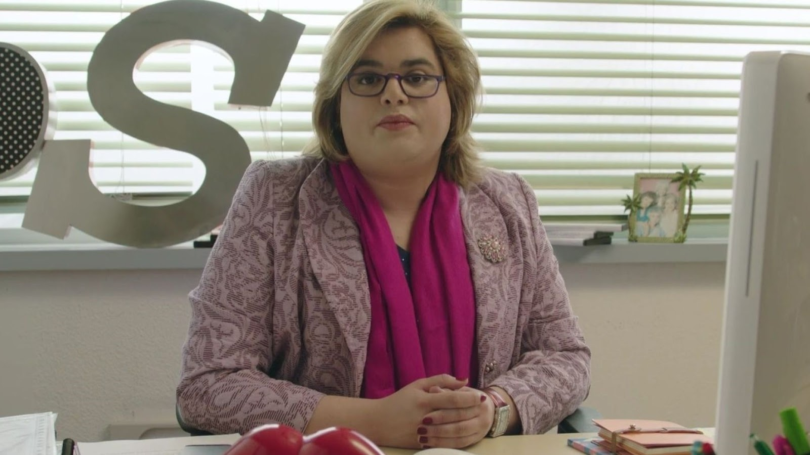 Paquita Salas, interpretada por Brays Efe en 'Paquita Salas'