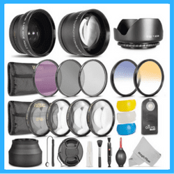 Lens accessories kit