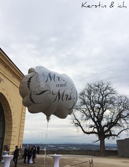 Heliumballon  Hochzeit