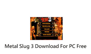 Metal Slug 3 Download For PC Free