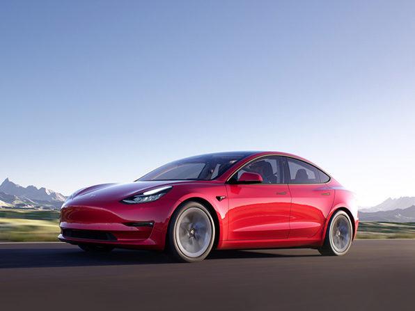 in a 2021 Tesla Model 3 or $25,000 Cash