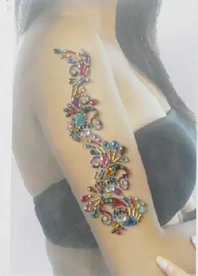 Body Jewels Tattoo Rhinestone