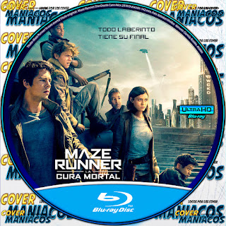 GALLETA MAZE RUNNER: The Death Cure cura mortal - MAZE RUNNER: La Cura Mortal - 2018