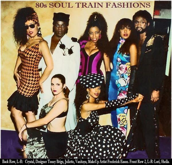 African American Fashion Show: Nina's Glam Closet: One Last Soul Train Line