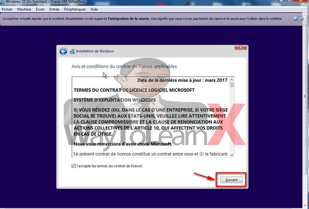Comment installer windows 10 dans virtualbox