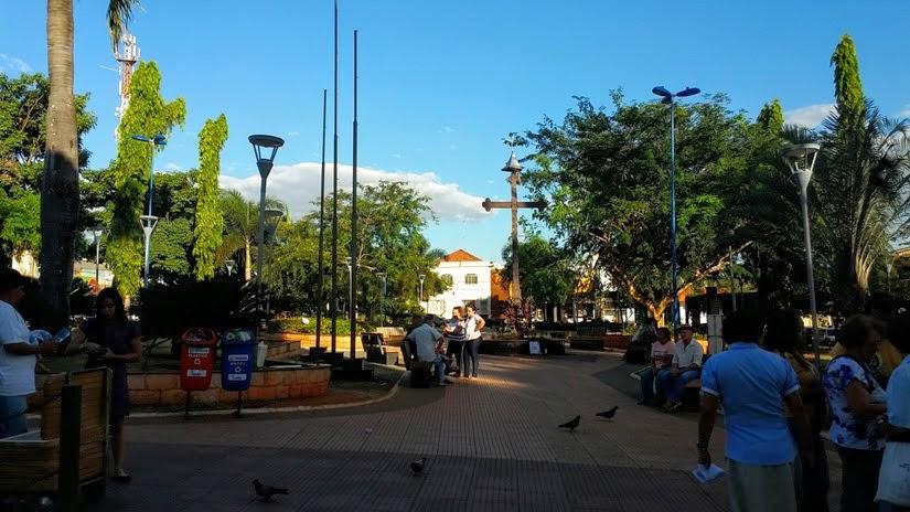 Praça da Igreja Matriz - o que fazer em Trindade, Goiás