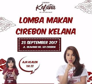 Event Cirebon! Yuk Ikut Lomba Makan Cirebon Kelana Oleh Oleh Ala Ussy
