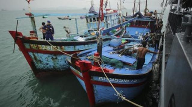 TERUNGKAP! April 2019 Jumlah Kapal Asing di Natuna Ribuan Tiap Hari, Suryo Prabowo: Mengapa Baru Sesudah Prabowo Jadi Menhan Di-blowup?