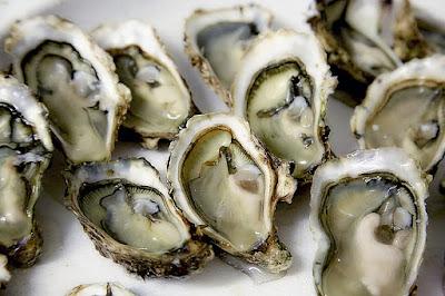 Tiram, makanan yang mengandung zinc tinggi