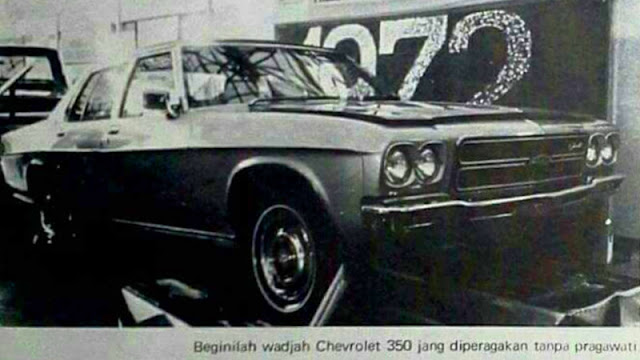 Chevrolet 350 1972 Indonesia