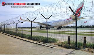 pagar bandara