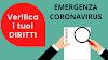 EMERGENZA COVID-19, VERIFICA I TUOI DIRITTI