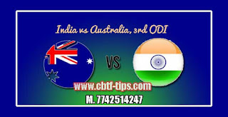 Australia Tour of India Match Prediction Tips by Experts AUS vs IND 3rd ODI