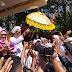 Wakil Bupati Lumajang Diritual Tawur Labuh Gentuh