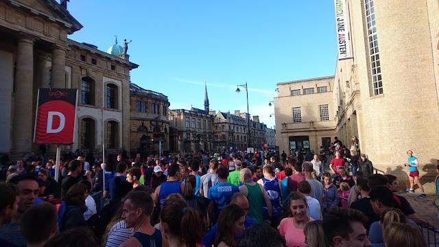 Oxford Half Marathon 2017 start