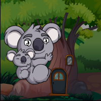 Play Games4Escape Koala Bears …