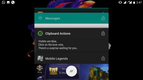 membersihkan aplikasi latar belakang