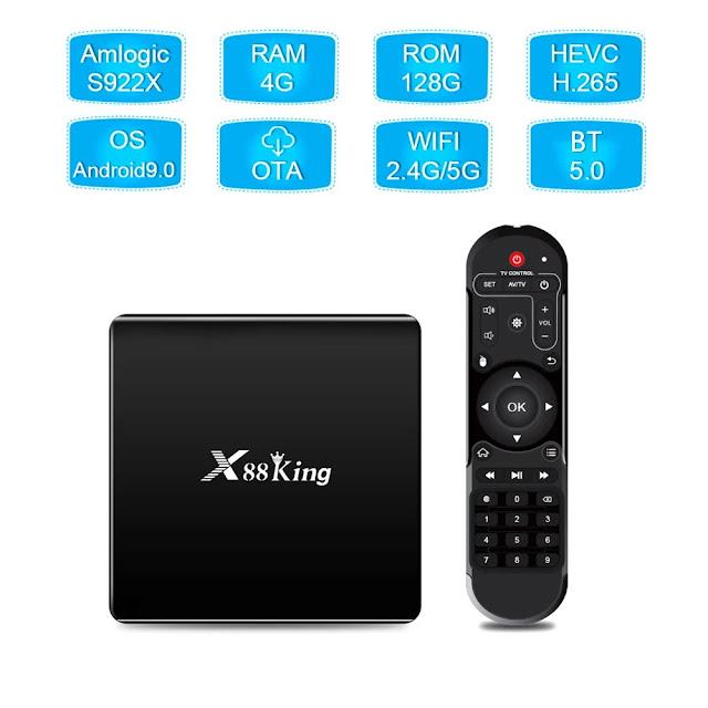 X88 King TV Box - Um maquinão
