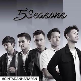 Lirik : 5 Seasons - Cinta dan Harapan