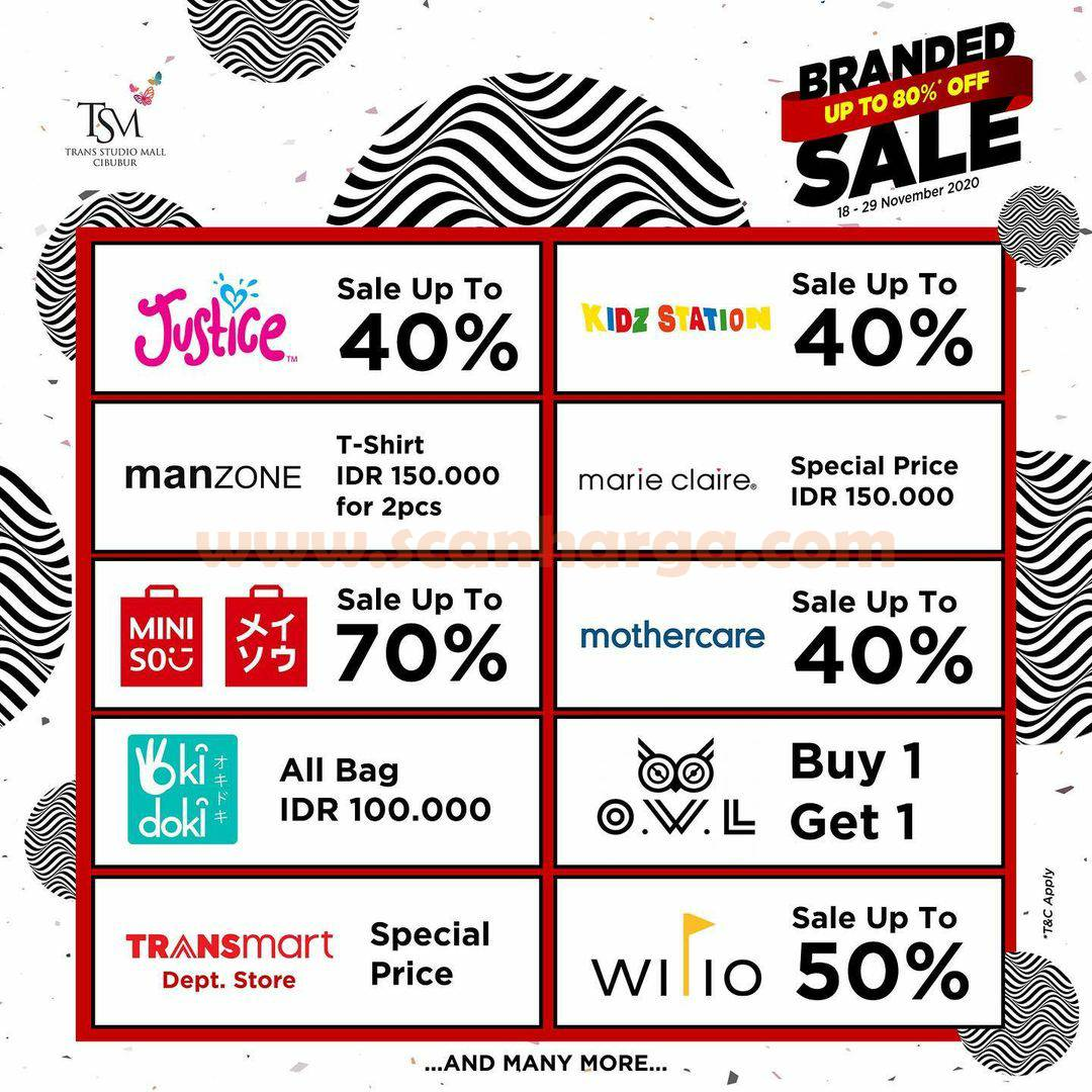 Trans Studio Mall Cibubur Present: Promo Branded Sale Bazaar Disc up to 80% Off 3