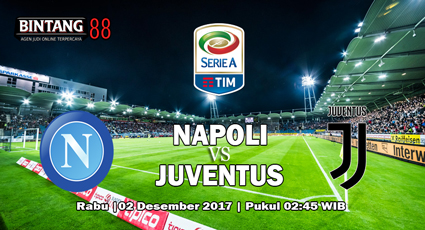 Prediksi Pertandingan Napoli vs Juventus, 02 Desember 2017