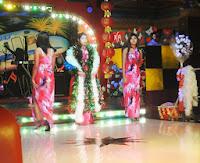 nightlife show girls in yangon