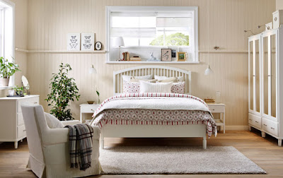 تصاميم غرف نوم بألوان متناسقة وجميلة