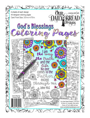 Our Daily Bread Designs Coloring Pages: God's Blessings
