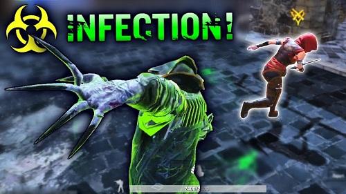 Infection Mode là loại game cương thi new của PUBG Mobile