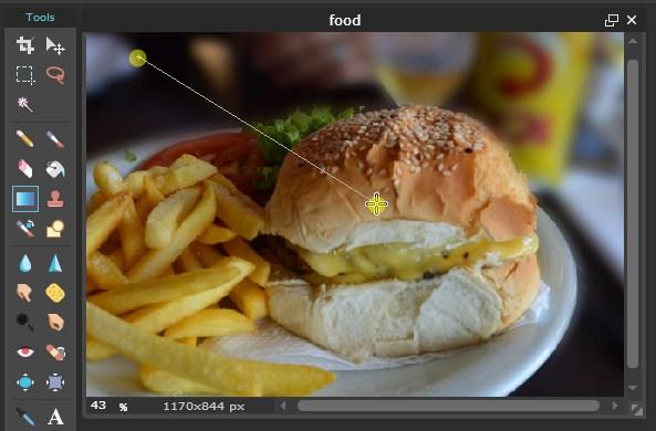 Edit Foto Makanan Dengan Editor Online