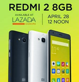 Xiaomi Redmi 2 Flash Sale This Coming April 28 for Php5,999