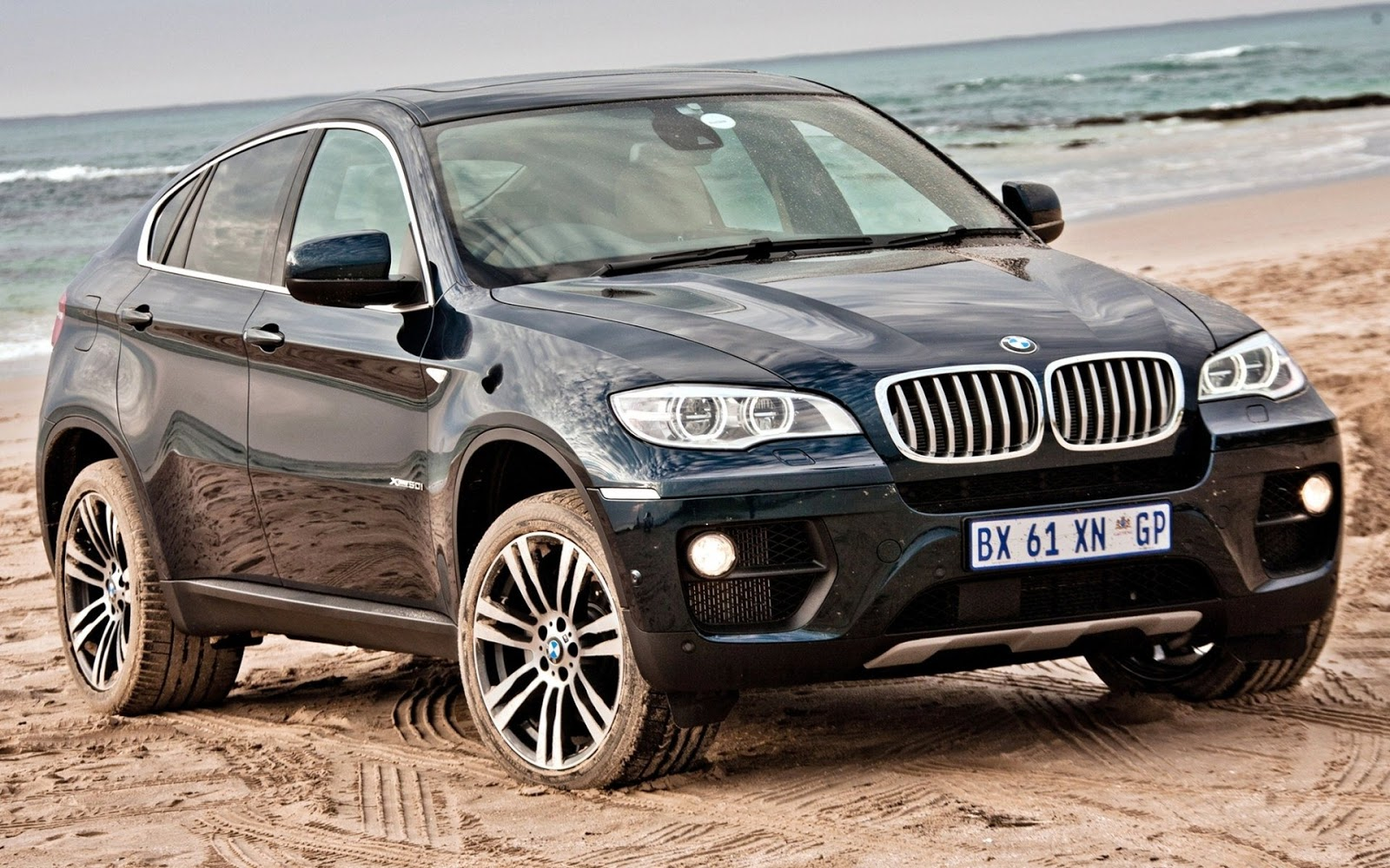 Bmw X6 Off Road 2 Wallpaper