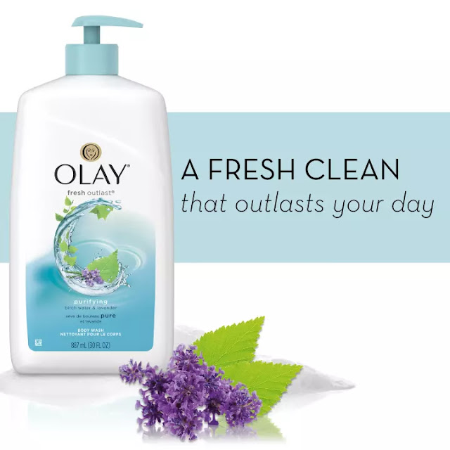 Sữa Tắm Olay Fresh Outlast Purifying Birch Water & Lavender 700ml
