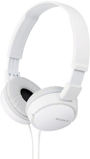 1. Sony MDR-ZX110A On-Ear Stereo Headphones