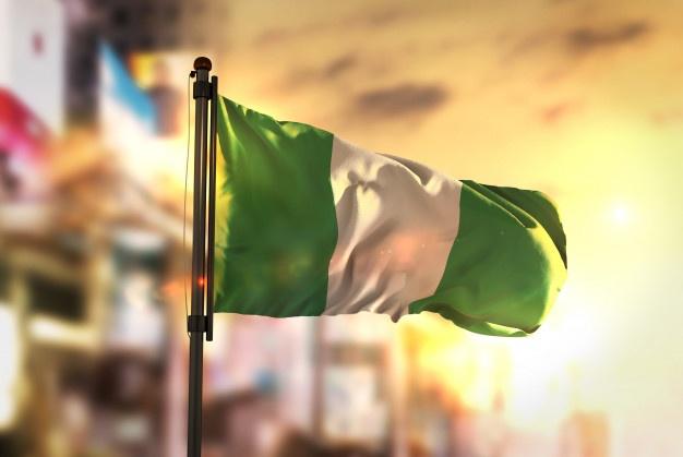 Flag of Nigeria 3D Cover Photo