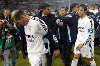 Derrota de Queiroz, Raul y Zidane