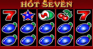 Hot Seven slot game