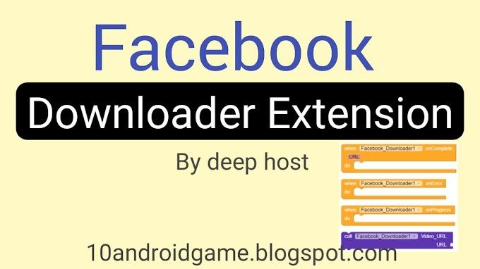 Facebook Downloader Extension