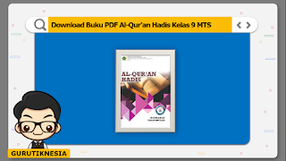 download ebook pdf  buku digital al-qur'an hadis kelas 9 mts