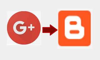 Cara beralih profile google+ ke profile blogger di blogspot