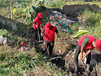 Tim Merah, Bergerak untuk Kabupaten Serdang Bedagai yang Bersih