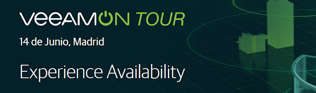 Veeam Backup: VeeamON Tour Madrid 14 de Junio