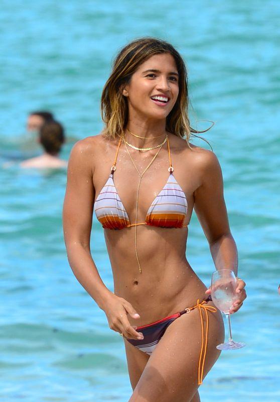 Rocky Barnes Clicked  in Bikini – Miami Beach 13 Jul -2016