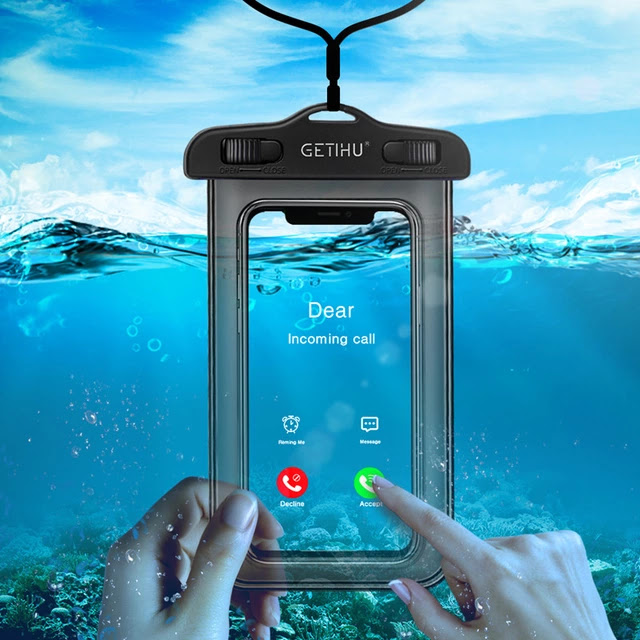 Mobile Phone Water proof Bags For iphone 5 5S SE 6 6S 7 7 Plus