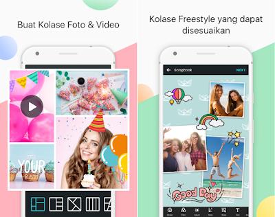Tampilan Aplikasi Photo Grid - Collage Maker Premium
