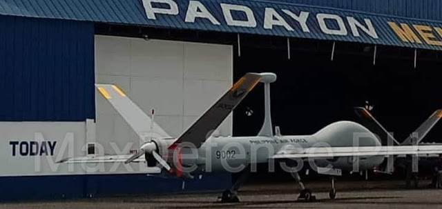 The Elbit Hermes 900 MALE UAS of the Philippine Air Force