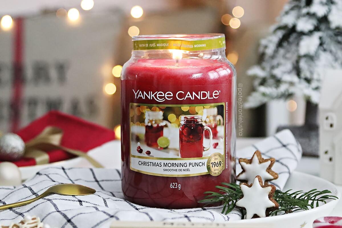 Yankee Candle Christmas Morning Punch - owocowy poncz, nie tylko na święta