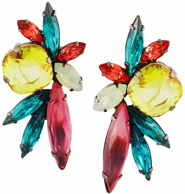 statement earrings by luxe American jewellery brand Elizabeth Cole