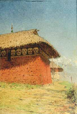 Василий Васильевич Верещагин - Храм бога войны (Кумирня, Буддийский храм)