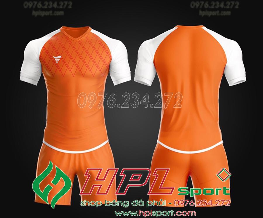 Áo ko logo TA Spe màu cam